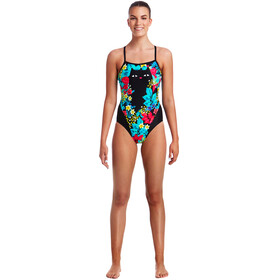 Funkita Single Strap One Piece Badpak Dames bont